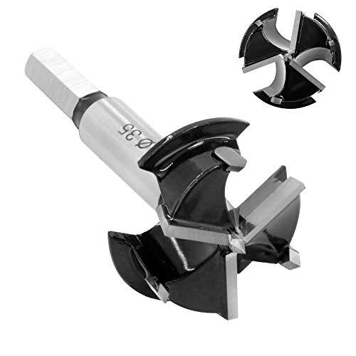 SJ-35 Forstner Drill Bits 35mm Kitchen Cupboard/Hinge Cup Drilling Hole Carbide for Furniture Door Hinge Hole