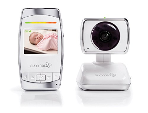 """Summer Baby Secure 2.5"""" Pan/Scan/Zoom Video Baby Monitor Monitors"""