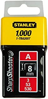 STANLEY 1-TRA209T - Grapa tipo a (5/53/530) 14mm - 1000 u.