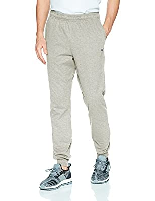 Champion Men's Jersey Jogger, Oxford Gray, S