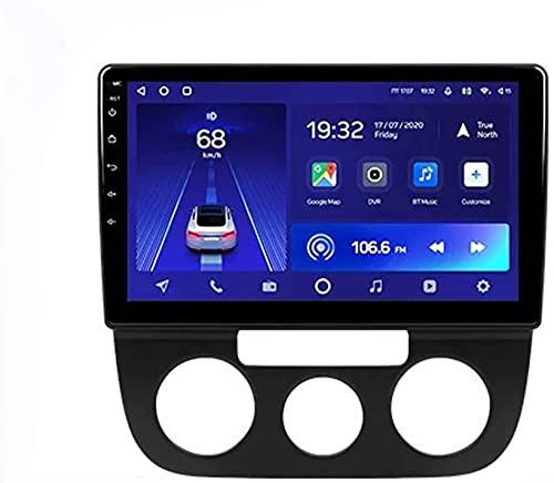 Android 10.0 Radio GPS Navegación para Volk-swagen Jetta 5 2005-2010 IPS Pantalla táctil Coche Estéreo Sat Nav Soporte de Control del Volante BT Mirror-Link FM 4G WiFi