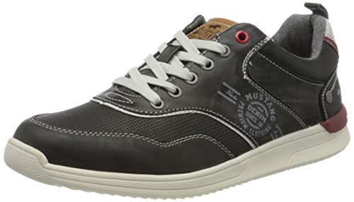 MUSTANG Herren Halbschuhe Grau, Schuhgröße:EUR 48
