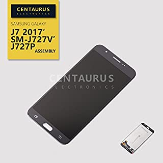 Replacement for Samsung Galaxy J7 Sky Pro / Galaxy J7 2017 SM-J727A J727U J727T J727T1 J727R4 J727V J727 J727P SM-S727VL S737TL 5.5 Assembly LCD Display Touch Screen Digitizer Repair (Black)