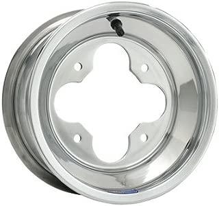 4/110 Douglas A5 Wheel 10X8 3.0 + 5.0 Polished Aluminum for Suzuki Z250 2004-2009