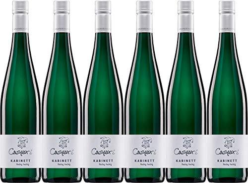 Caspari-Kappel Kabinett Riesling 2018 Edelsüß Bio (6 x 0.75 l)