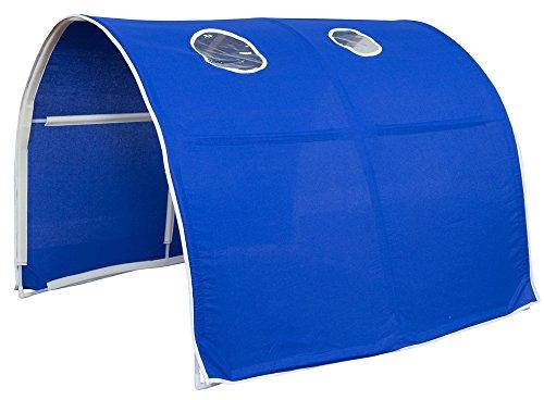 PEGANE Tunnel de lit Enfant en Plastique Coloris Bleu - Dim : 90 x 70 x 100 cm