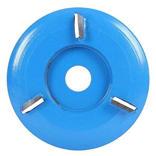 QUEENBACK houtsnijwerk schijf voor grinde houtbewerking gravure 4-tooth frees voor 16mm apertur haakse slijper