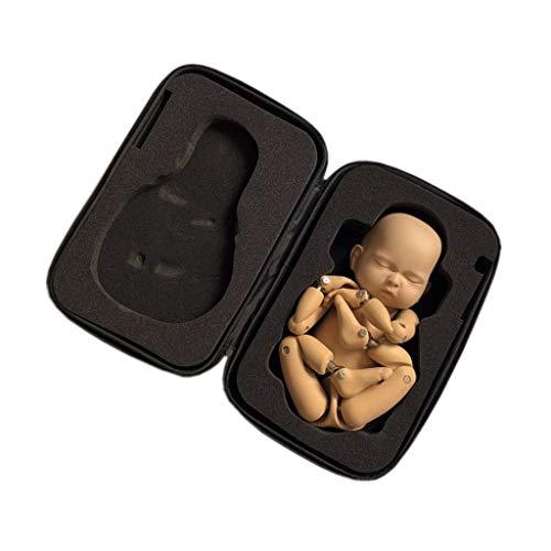 jiheousty Neugeborene Posing Doll Joint Modell Fotografia Baby Fotografie Requisiten Zubehör