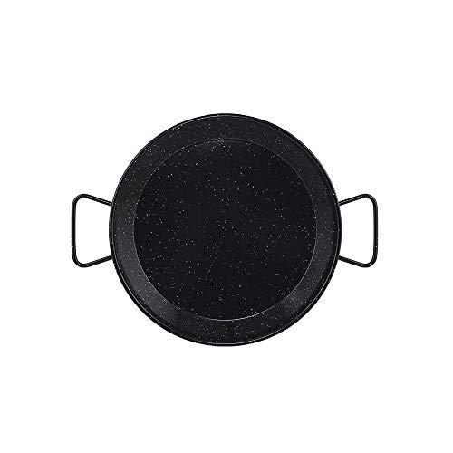 Metaltex - Padella per paella in acciaio smaltato 6 porzioni 34 cm