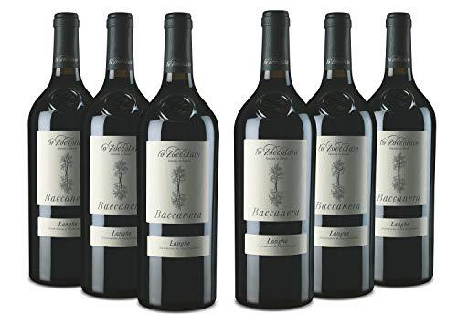 Lo Zoccolaio - Vino Rosso - Langhe Rosso DOC Baccanera Pacco da 6 X 750 ml