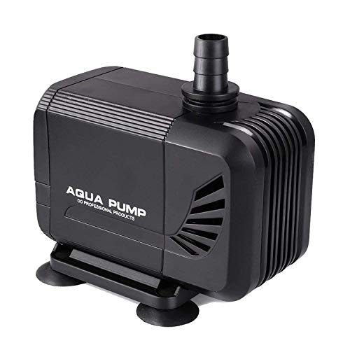 Pedy Water Pump, 400GPH (1500L/H) Submersible Water Pump for Pond, Aquarium, Fish Tank Fountain Water Quiet Pump Hydroponics, 15W