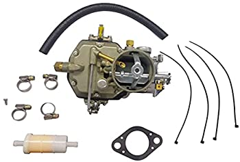 Autolite 1100 1 Barrel Carburetor Replacement for 1964 to 1968 Mustang Falcon 200 223/262 Inline Comet Straight 6 Cylinder 170 & 200 Cid Engines Automatic & Manual Transmissions