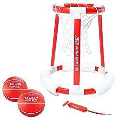 top rated GoSports Splash Hoop 360 Swimming pool, water basketball hoop, basketball game with two balls … 2021
