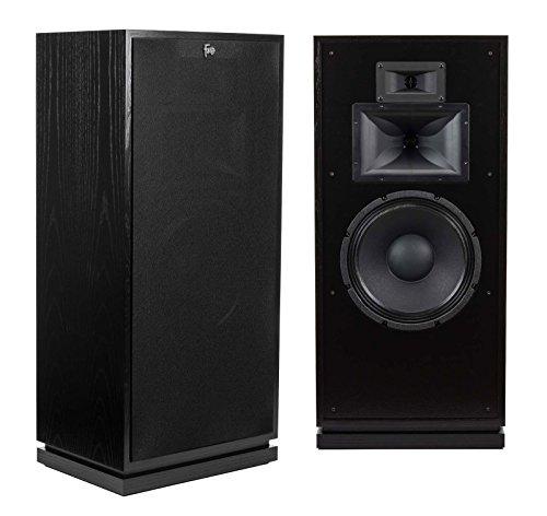 Read About Klipsch Forte III Heritage Series Tower Speakers - Pair (Black Ash)