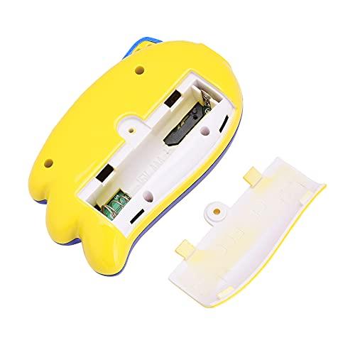 Máquina de Juego, Consola de Juegos portátil de la Consola de Juegos de la Entrada del Sistema de Pesos Americano de Las ayudas para el Regalo(Blue-Yellow)
