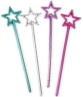 Mini Plastic Star Fairy Wands (2 dz) by Fun Express