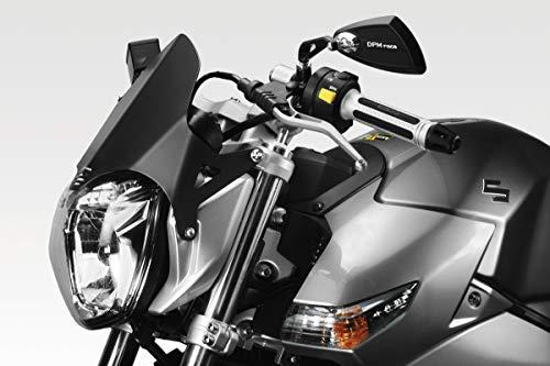 GSR600 2006/10 - Kit Carenabris 'Aluextreme' (R-0586B) - Parabrisas Lunas Cúpula de Aluminio - Tornillería Incluido - Accesorios De Pretto Moto (DPM Race) - 100% Made in Italy