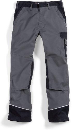 BP 1609-559-53-54s Arbeitshosen, mit Taschen, 245,00 g/m² Stoffmischung, dunkelgrau/schwarz ,54s