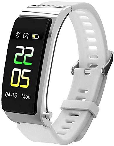 Burbe Fitness Tracker Smart Watch, Activity Tracker mit Herzfrequenz-Blutdruck-Monitor, Schlaf-Monitor-Pedometer-Armband, Two in One Step und Ing mit Bluetooth Headset-Armband für Männer Frauen.