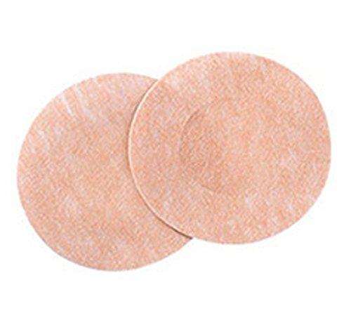5 Paar Nipple-Cover - Brustwarzenabdeckung - rund - hautfarben Blickdicht