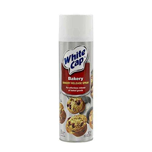 Ventura Foods White Cap Baking Pan Spray, 1. 28 Pound -- 6 per case.