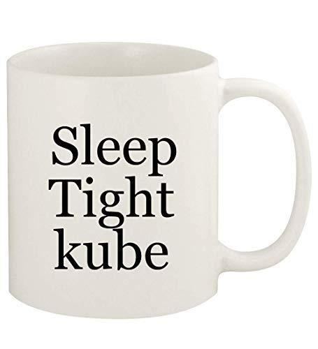 Sleep Tight kube - 11oz Ceramic White Coffee Mug Cup, White
