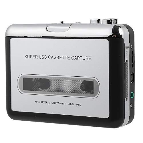 Hopcd Cassette to MP3 Converter, Tape to PC Cassette Recorder MP3 /CD...
