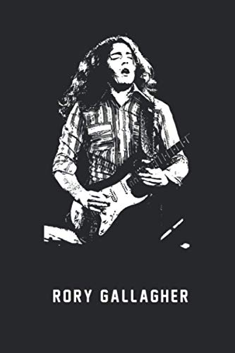 RORY GALLAGHER, Song Journal,singing gifts for men.: Song Journal, song Notebook, Notepad, Great for singing lovers Gifts