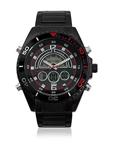 Munich Reloj Digital para Unisex Adultos de Cuarzo con Correa en Caucho MU+124.1A