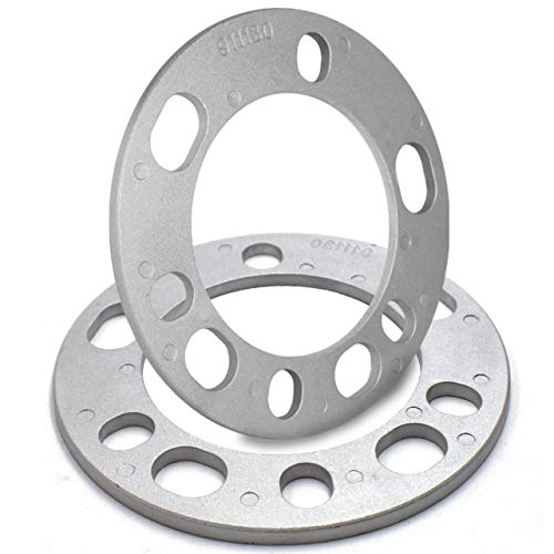 "6mm (1/4"") Thickness Wheel Spacers for 5x135mm, 5x139.70mm (5x5.50), 6x135mm, 6x139mm (6x5.50)"