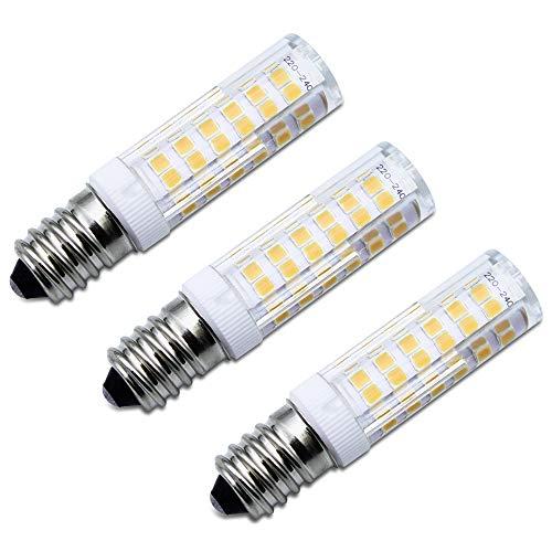 SPTwj 3er Pack E14 LED Glühbirne Dunstabzugshaube Lampe Warmweiß Nicht Dimmbar 6W Entspricht 50 W Halogenlampe 550 Lumen 3000K