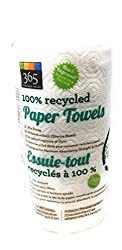 365 Everyday Value, Paper Towels 100% Recycled Jumbo Roll 135 Sheet, 1 Count