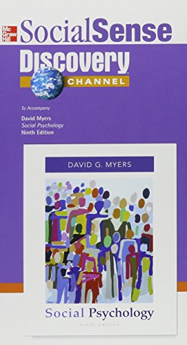 Social Sense Discovery Channel: To Accompany David Myers 'Social Psychology'