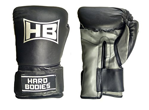Hard Bodies HB-BG101 Other Boxing Gloves, 10 Oz (Black)