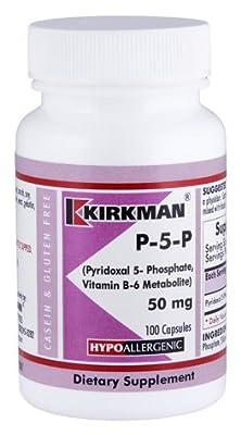 P-5-P (Pyridoxal 5-Phosphate) 50 mg Capsules - Hypo