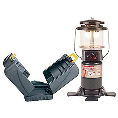 Coleman 2000004176 2-Mantle Propane Lantern with Case