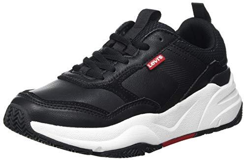 Levi's Damen West Sneaker, Regular Black, 37 EU