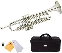 hawk nickel plated pocket trumpet wd tp318