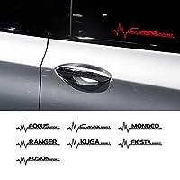 車のステッカー 繊細 デカール フルボディ カー サイド ステッカーFor Ford Focus KUGA Mondeo Fusion Fiesta Ranger C MAX