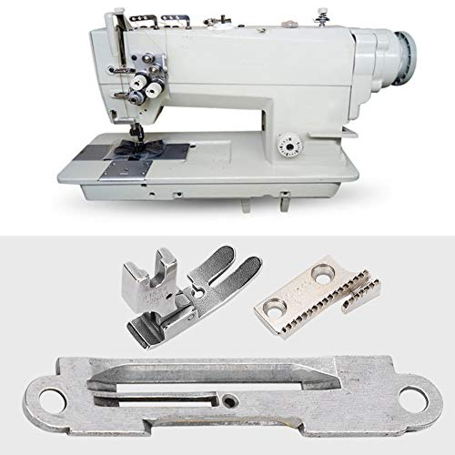 Juego de placas de aguja para máquina de coser, accesorios para máquina de coser, prensatelas para Juki Zoje