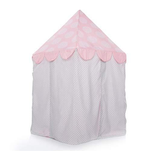 XZGang Roze Tent, Girl Dream House Children's Room Princess Room Play House Indoor Hide And Seek Castle baby speelgoed House Ruimte voor kinderen (Size : 110 * 110 * 130CM)