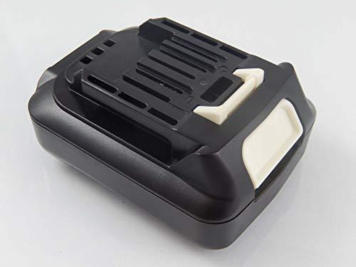 vhbw Batería compatible con Makita FD07Z, HP331DSA, HP331DSAE, HP331DSAP1, HP331DSAX1, HP331DSAX3 herramientas eléctricas (1500mAh Li-Ion 12V)