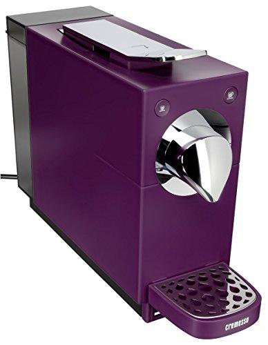 Cremesso Automatic - Cafetera de cápsulas, color morado