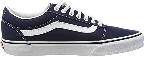 Vans Herren Ward Sneakers, Blau (Canvas) Dress Blues/White Jy3, 39 EU