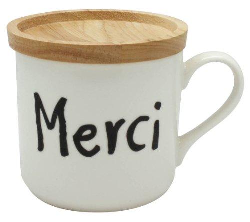 ヴィヴル 蓋付きマグカップ Merci 1個箱BOX 028702