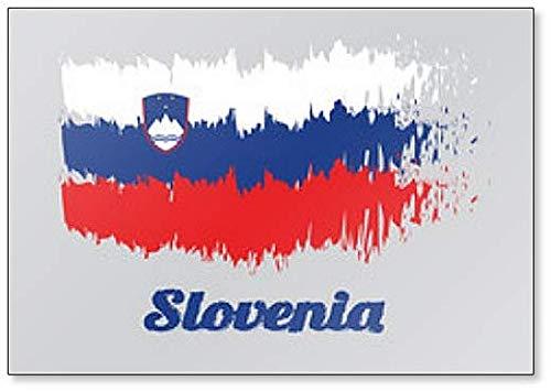 Kühlschrankmagnet Flagge Sloweniens