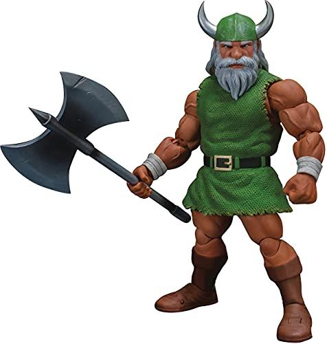 Storm Collectibles - Golden Axe - Gilius Thunderhead & Chicken Leg  Storm Collectibles 1/12 Action Figure