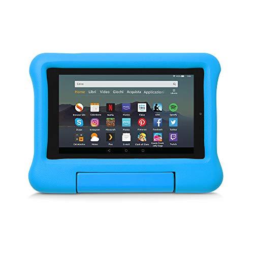 custodia tablet amazon Custodia per bambini per tablet Fire 7 (compatibile con dispositivi di 9ª generazione