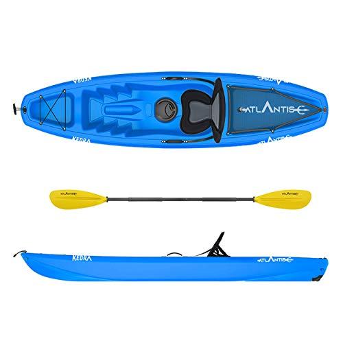 ATLANTIS Kayak-Canoa KEDRA Blu cm 268 - seggiolino - gavone - ruotino - pagaia