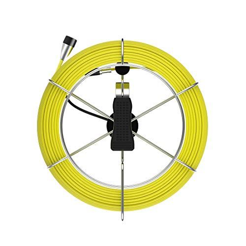 anysun Cable de cámara de alcantarillado, Cable de Fibra de Vidrio de...